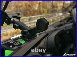 SuperATV Scratch Resistant Flip Windshield for John Deere Gator XUV 835 / 865