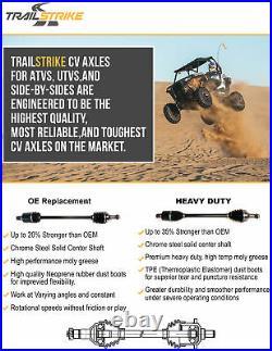 TrailStrike Front Pair CV Axles For John Deere Gator HPX 4x4 Diesel 2006-2009