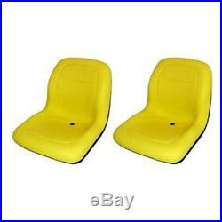 Two (2) Garden Seats For John Deere Gator Lawn Garden 4x2 & 6x4 Milsco