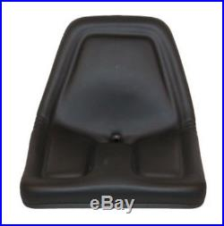 Universal Black Michigan Style Seat John Deere Gator Kubota Ford Ma TM333BL