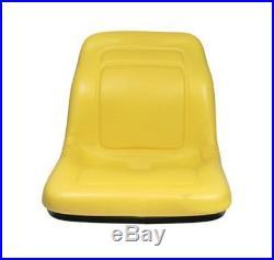VG11696 New John Deere Yellow Vinyl 18 Gator Seat CX E TE TH TX XUV HPX Turf +