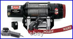 Warn Provantage 4500 Winch withMount John Deere Gator XUV 825i S4 13-16