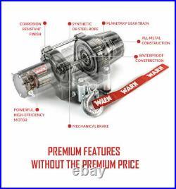 Warn Vrx 4500 Utv Winch Kit For All Models John Deere Gator Xuv 865r