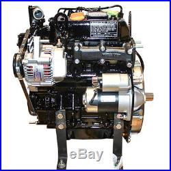 Yanmar Diesel Engine 22hp 3000RPM 3 cyl John Deere Gator 6x4 F935 3TN66C-EJUV
